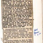 Intrede evangelist G.H. Bosch als hulpprediker Hervormd Akkerwoude