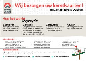 Kerstpostactie World Servants Damwoude