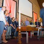 Pinksterzondag 20 mei, Belijdenis en doop