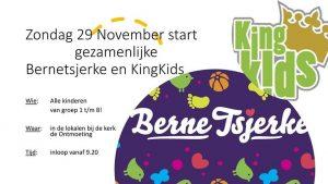 Oproep KingKids & Bernetsjerke