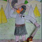Kerk School en Gezin, Gideon, ramshoorn en fakkel