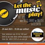 (Online) popquiz 'Let the music play! komend najaar!